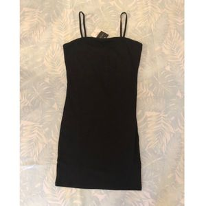 Topshop Basic Black Camisole Dress NWT